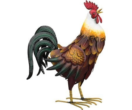 Bantam Rooster Decor 18